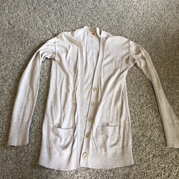 Mossimo Supply Co. Sweaters - Mission Supply Co. cream colored cardigan
